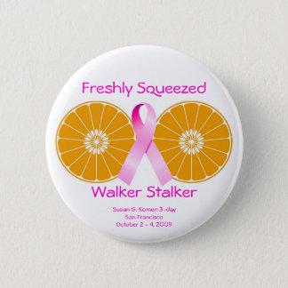 Freshly Squeezed Walker Stalker Button