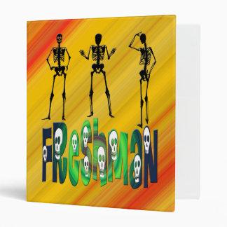 Freshman -  Skeletons Binder