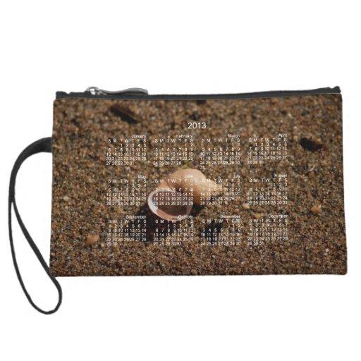 Freshwater Snail Shell; 2013 Calendar Wristlet