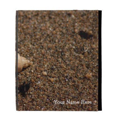 Freshwater Snail Shell; Customizable iPad Cases