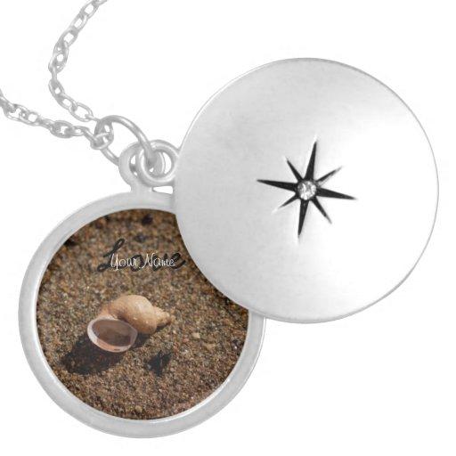 Freshwater Snail Shell; Customizable Jewelry