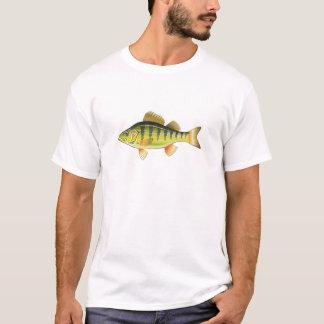 Freshwater Yellow Perch Vector Art graphic design T-Shirt