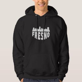 Fresno CA Cityscape Skyline Hoodie