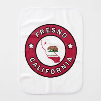 Fresno California Burp Cloth