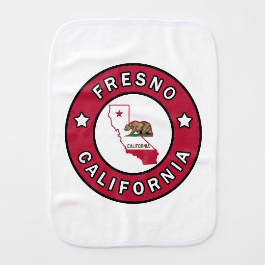 Fresno California Burp Cloth