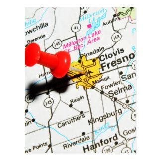Fresno, California Postcard