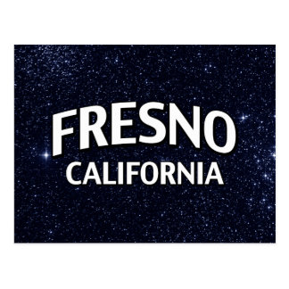 Fresno California Postcard