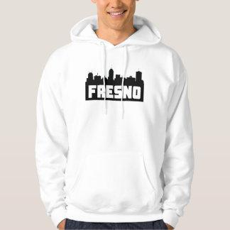 Fresno California Skyline Hoodie