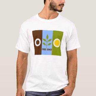 fresno city flag california republic united states T-Shirt