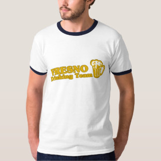Fresno Drinking Team tee shirts