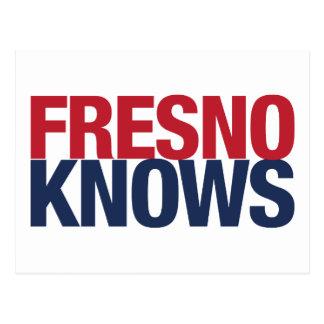 Fresno Knows Postcard