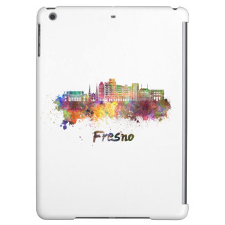 Fresno V2 skyline in watercolor iPad Air Case