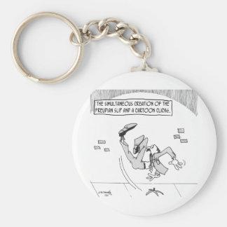 Freud Cartoon 3169 Keychain