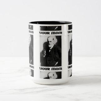Freud 'Your Mom' - 15oz Coffee Cup