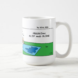 Freudian Slip and Slide Coffee Mug