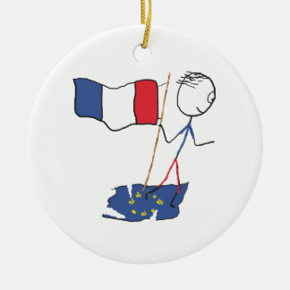 Frexit Ceramic Ornament
