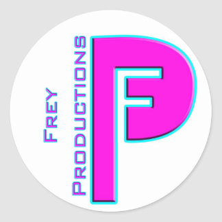 Frey Productions Hot Pink Sticker