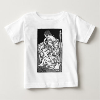 Frey seated on the throne of Odin Baby T-Shirt