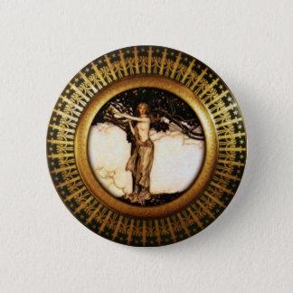 Freya Gold 2 Inch Round Button