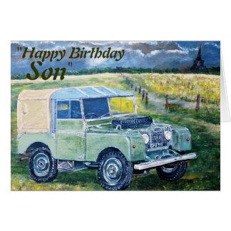"""FREYA"" ""Happy Birthday Son "", Card"