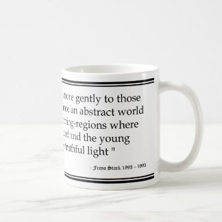 Freya Stark Age Quote Mug