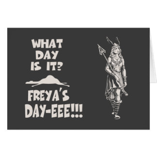 Freya's Day Card