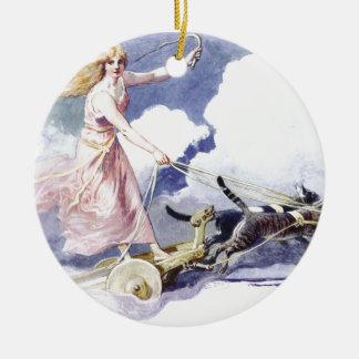 Freyja Ceramic Ornament
