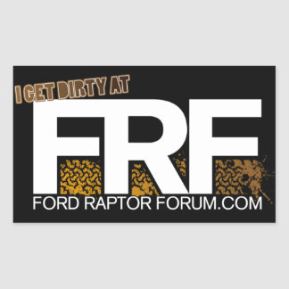 FRF Mud Tread Sticker