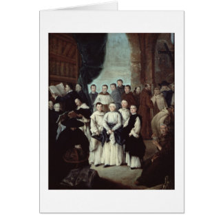 Friars in Venice Card