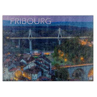 Fribourg city, Switzerland Cutting Board