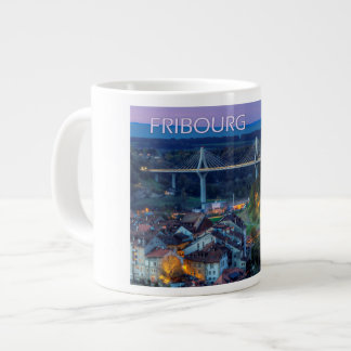 Fribourg city, Switzerland Large Coffee Mug