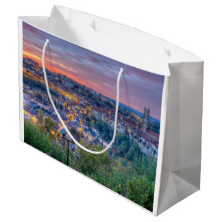 Fribourg city, Switzerland Large Gift Bag