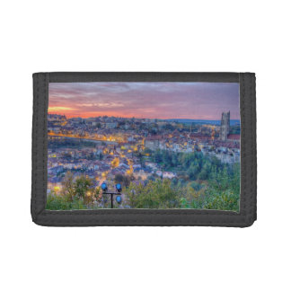 Fribourg city, Switzerland Trifold Wallet