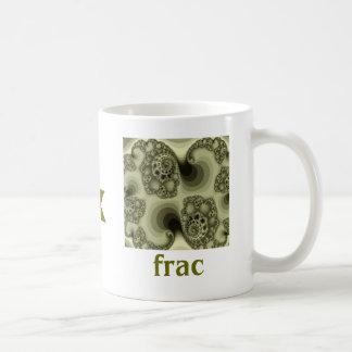 fric & frac coffee mug
