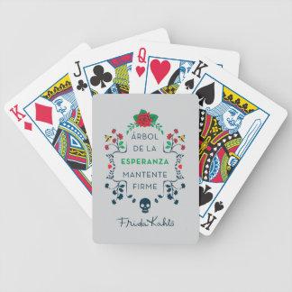 Frida Kahlo | Árbol De La Esperanza Bicycle Playing Cards