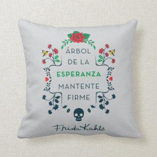 Frida Kahlo | Árbol De La Esperanza Throw Pillow
