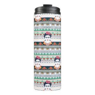 Frida Kahlo   Aztec Thermal Tumbler