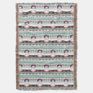 Frida Kahlo | Aztec Throw Blanket