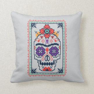 Frida Kahlo | Calavera Throw Pillow
