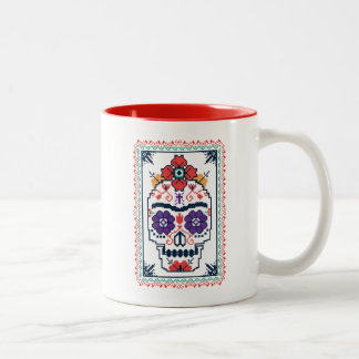 Frida Kahlo | Calavera Two-Tone Coffee Mug