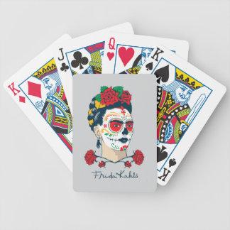 Frida Kahlo | El Día de los Muertos Bicycle Playing Cards