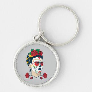 Frida Kahlo | El Día de los Muertos Keychain
