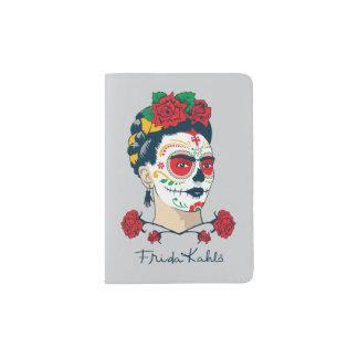 Frida Kahlo   El Día de los Muertos Passport Holder