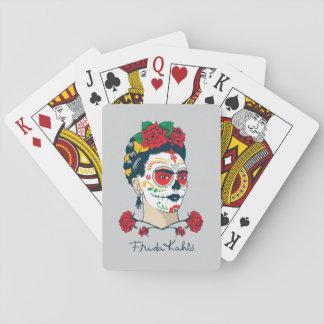 Frida Kahlo | El Día de los Muertos Playing Cards