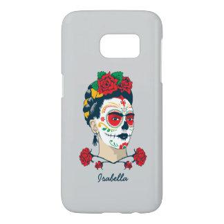 Frida Kahlo | El Día de los Muertos Samsung Galaxy S7 Case