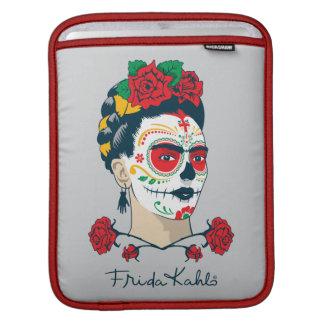 Frida Kahlo | El Día de los Muertos Sleeve For iPads