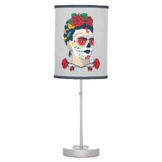 Frida Kahlo | El Día de los Muertos Table Lamp