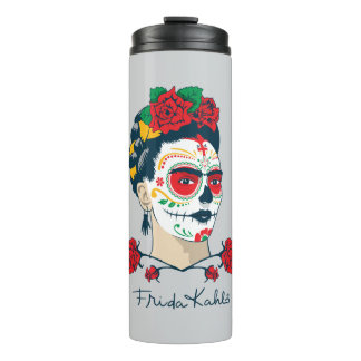 Frida Kahlo | El Día de los Muertos Thermal Tumbler