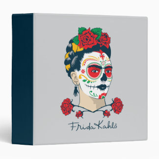 Frida Kahlo | El Día de los Muertos Vinyl Binder