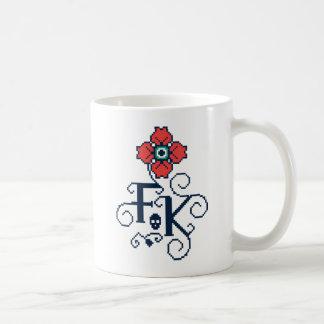 Frida Kahlo | Floral Tribute Coffee Mug